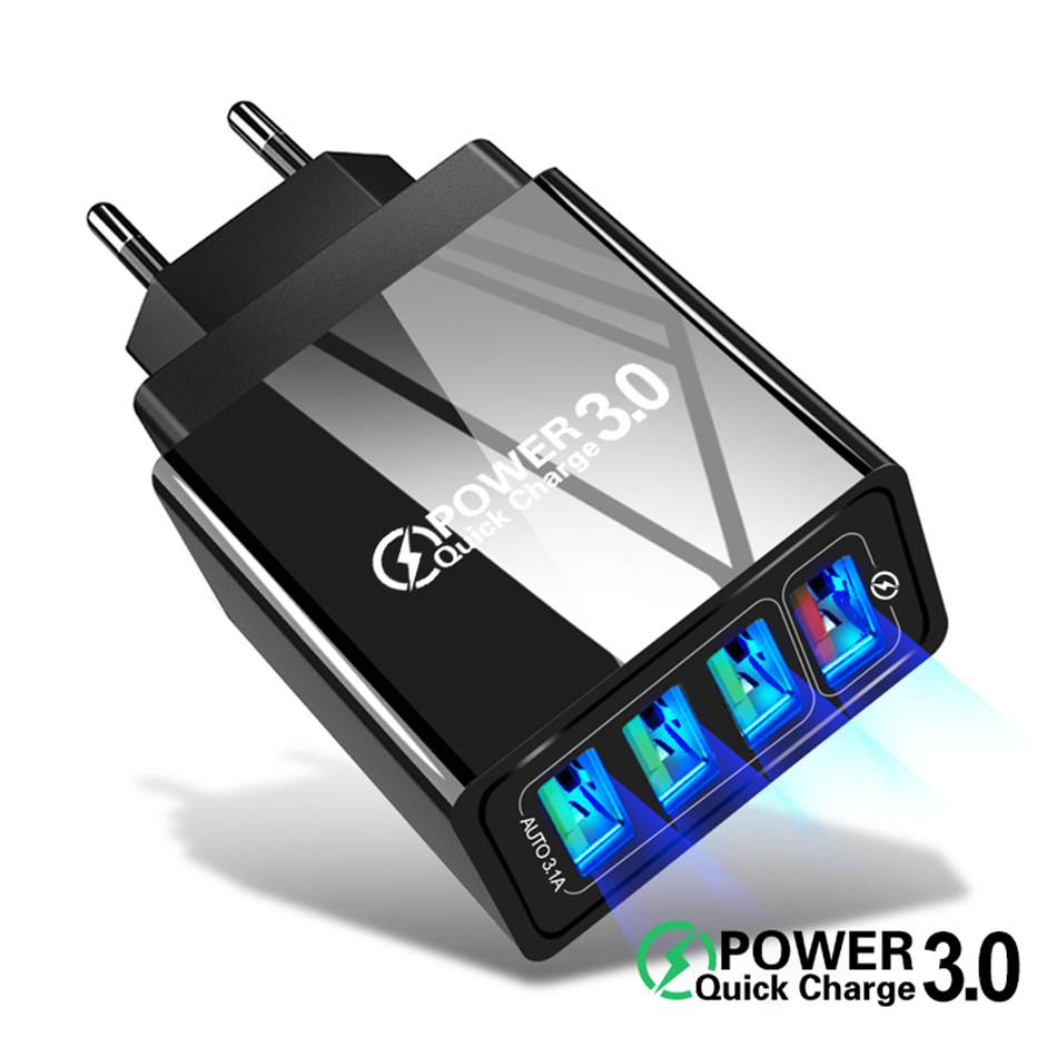 48W chargeur rapide 3.0 USB