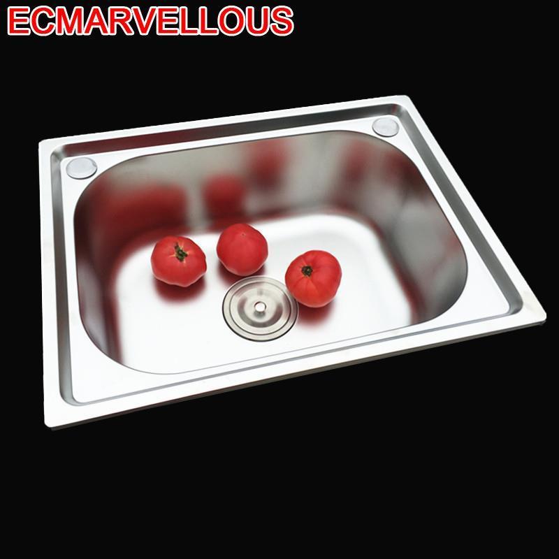 Cucina Stainless Steel Evier Wasbak Lava Manos Lavello Inox Acero Inoxidable De Cocina Fregadero Cuba Pia Cozinha Kitchen Sink