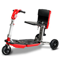 Disability Electric Scooter 3 Wheel Electric Scooter For Elderly Disabled Folding Electric Wheelchair With Removable Battery