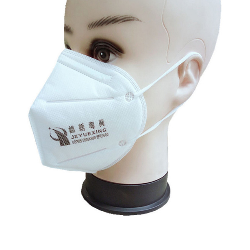 Beautiful Yuexing 9600 Dust Respirator Polishing Decoration Anti-fog Haze Nonwoven Fabric Face Mask Disposable Mask