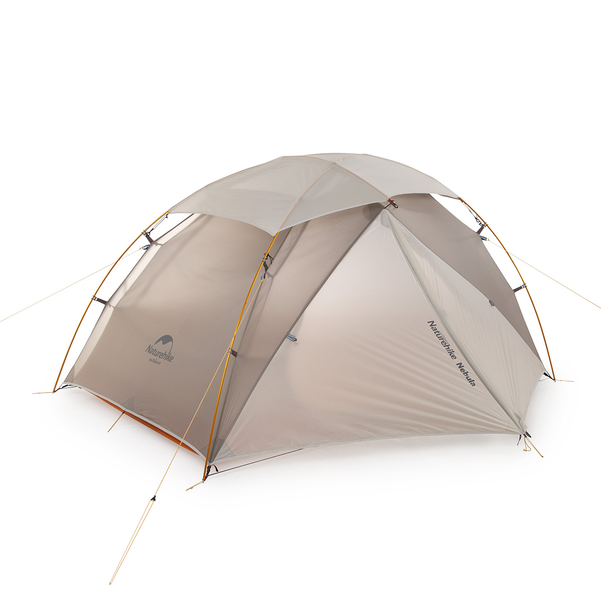 Naturehike Nebula 2 Ultralight Double Resident Tent 2 Man Camping Tent, 20D Nylon Silicone Outdoor 2 Person Camp Tents
