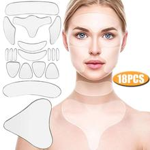 Sticker Lifting-Care-Patch Skin Face-Forehead Anti-Wrinkle Aging Removal 18pcs Pad Reusable