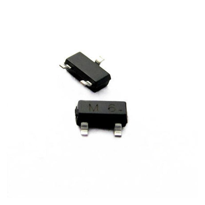 Pengiriman Gratis 200 Pcs/lot Transistor S9015 M6 0.1A/45 V PNP SOT23 IC