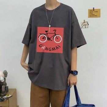 long sleeve t shirt men cotton black Short-Sleeved Mens Summer Half-Sleeve T-shirt Hip Hop Clothes