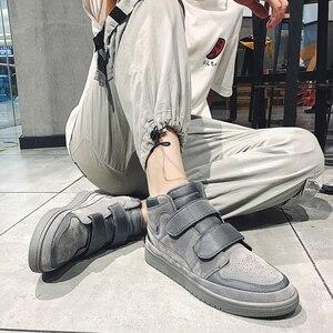 Image 4 - ฤดูใบไม้ร่วงผู้ชายรองเท้าสบายๆ Zapatos De Hombre แฟชั่น Tenis Masculino เดินรองเท้า High Tops รองเท้าผ้าใบรองเท้ารองเท้า Krasovki