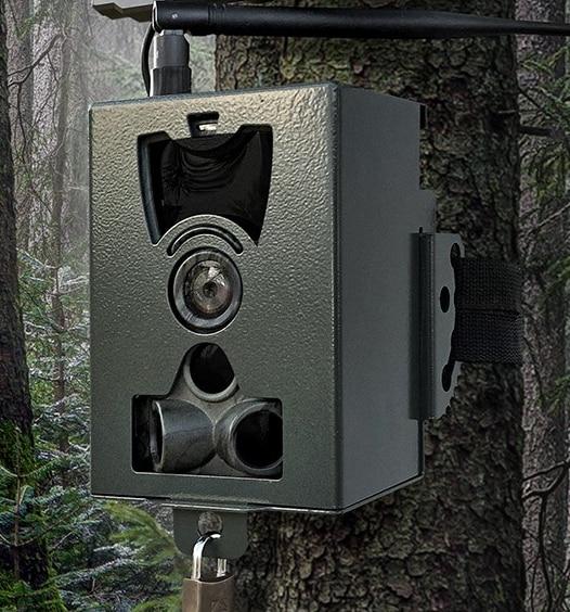Защитный ящик для охотничьей камеры, Защитный металлический чехол, железный замок для Suntekcam серии HC801LTEHC801G HC801M HC801A