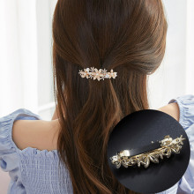 CHIMERA Rhinestone Flower Barrettes Elegant Hair Clips for Women Stylish Crystal Hairpins Clamp Headwear Accessories Jewelry chimera rhinestone hair clips color flower snowflake hairpin buckles diy hair rubber bands ties shinny women accessories jewelry