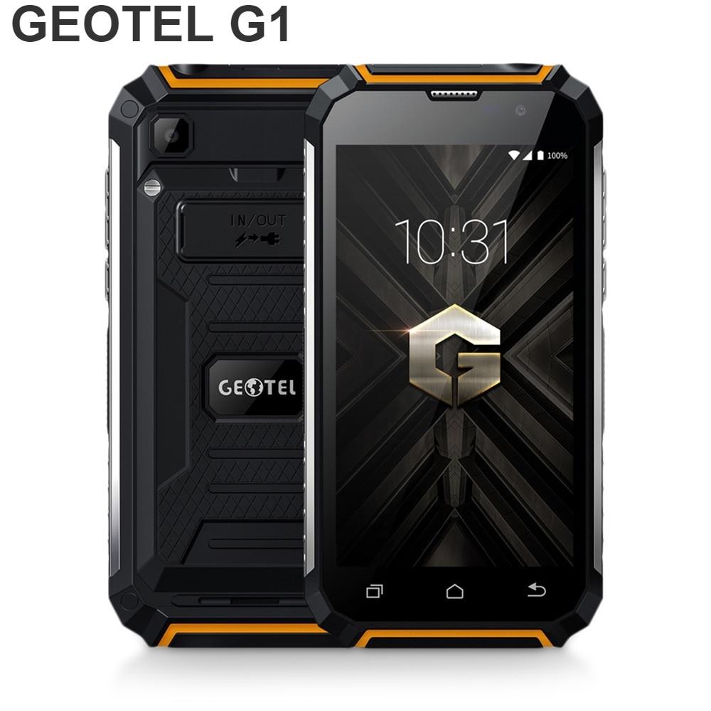 Фото. GEOTEL G1 5-дюймовый 3g Смартфон Android 7,0 2 Гб Оперативная память 16 Гб Встроенная память MTK6580