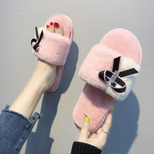 2019 New Plush Slippers Women Autumn and Winter Casual Fashion Home Cotton
