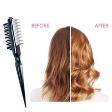 Instant Hair Volumizer Comb Sharks Back Combing Brush Portable Professional Women Men