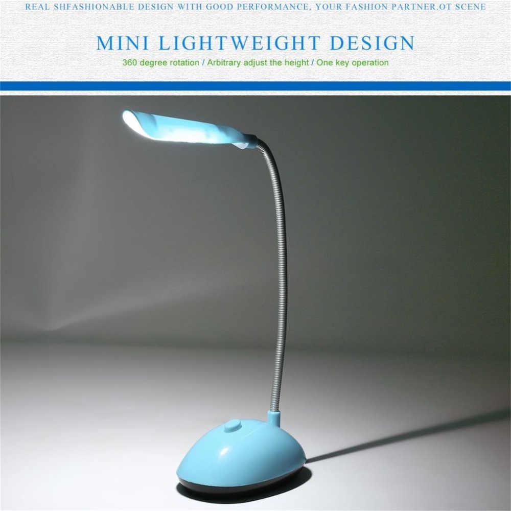 אופנה Ultra-בהיר רוח LED שולחן אור כלכלי AAA סוללה מופעל ספר קריאת מנורת עם גמיש צינור PY-X7188