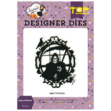 the reaper Dies Happy Halloween Metal Cutting Scrapbooking Ghost Craft Die Cut for diy paper card making