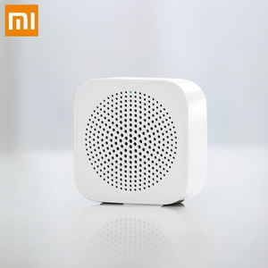 Image 1 - Xiaomi AI Bluetooth רמקול מיני אלחוטי HD באיכות נייד רמקול טור מיקרופון ידיים שיחה חינם AI Bluetooth 5.0 תיבת קול