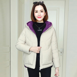 Image 5 - Winter Warm Hooded Coats Women Casual Jackets New Fashion Double Pocket Thick Cotton Parka Female Outerwear Coat P241