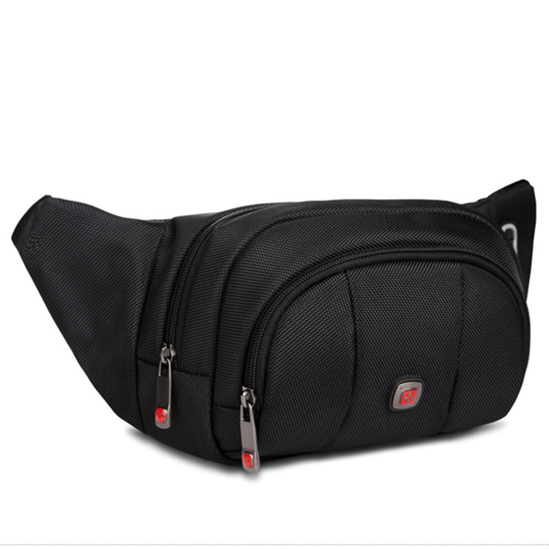 Swiss Boy Men Women Waist Packs Fanny Bag, Multiple Functions Hip Bum Chest Belly Back Bags With Adjustable Belt Strap For Men,