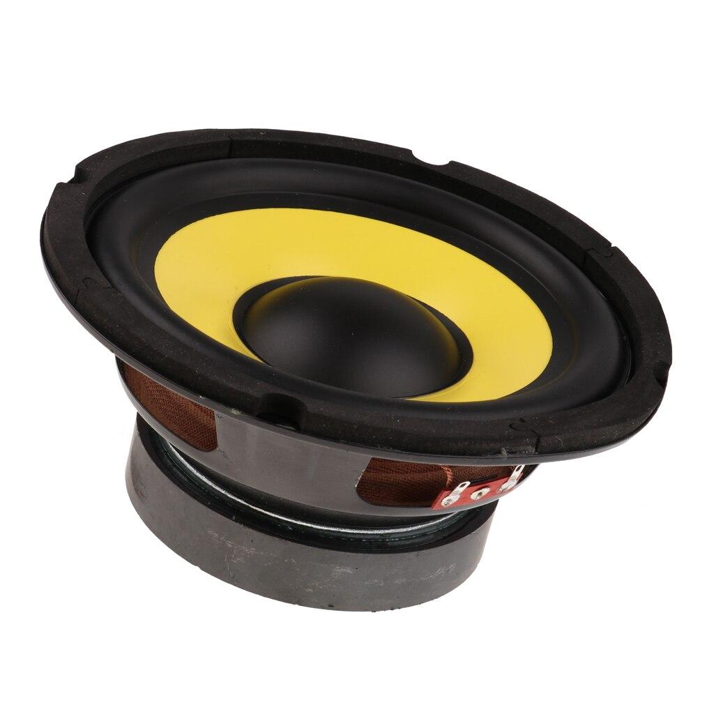 """6.5"""" 50W Car Audio Stereo Horn Subwoofer Bass HIFI Speaker 4 Ohm Magnet 100"""