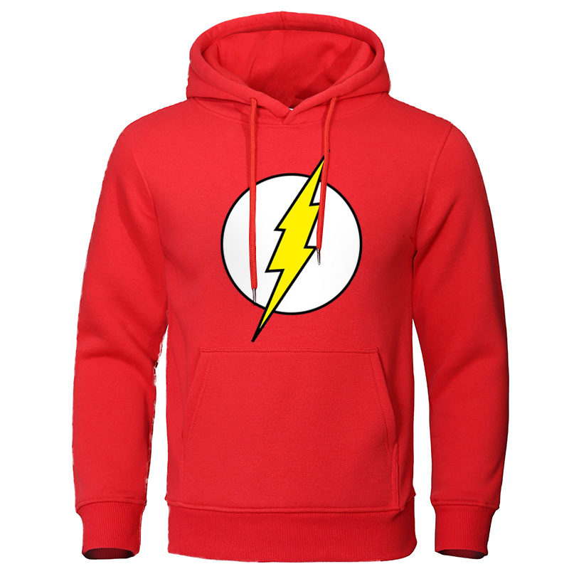 The BIG BANG Theory Men's Hoodies The Flash Print Male Sweatshirts Hot Sale Casual Men Pullover Tracksuit Autumn Streetwear Tops