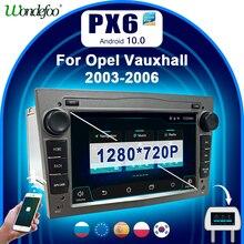 PX6 auto radio 2 din android 10 mit bildschirm für Opel Vauxhall Astra H G J VECTRA Antara Zafira Corsa Vivaro meriva Veda autoradio