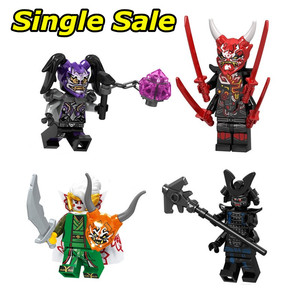 Single Sale Ninjagoes Minifigures Action Figures Building Blocks Mr.E Compatible Bricks Birthday Gift Toys For Children