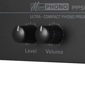 Image 5 - Hot 3C Pp500 Ultra Compact Phono Preamp Preamplifier with Level & Volume Controls Rca Input & Output 1/4 Inch Trs Output Interfa