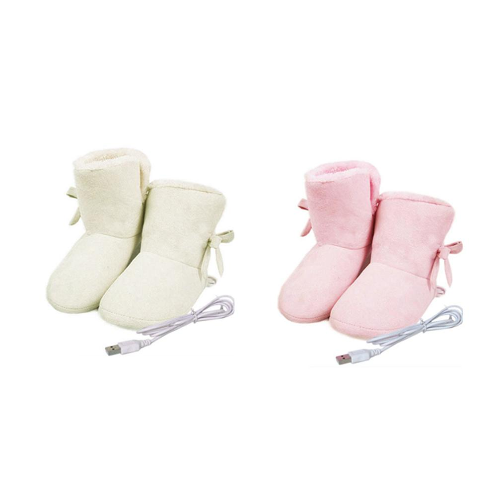 USB Electric Heating Boots Removable And Washable Heating Shoes|Electric Heating Pads| |  - title=