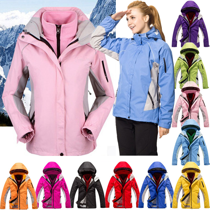 Women Winter Ski Jacket High Quality Snowboard Jackets Snow Warm Waterproof Windproof Skiing Snowboarding Female Hiking Coats