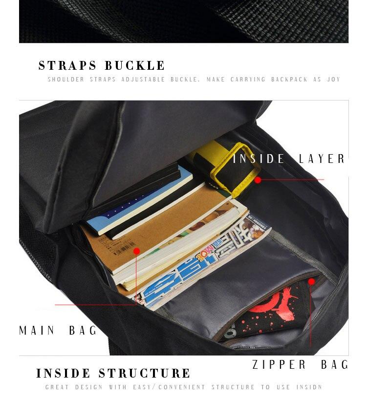 backpack shoulder bag schoolbag daypack bookbag mochila (5)