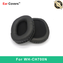 Ear Pads For Sony WH CH700N WH-CH700N Headphone Earpads Replacement Headset Ear Pad PU Leather Sponge Foam