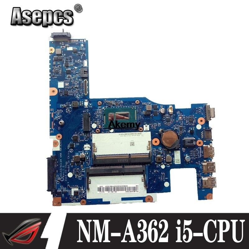Tested ACLU1 ACLU2 UMA NM-A272 NM-A362 For Lenovo G50-70 Z50-70 G50-70M G50-80 Notebook Motherboard I5-CPU