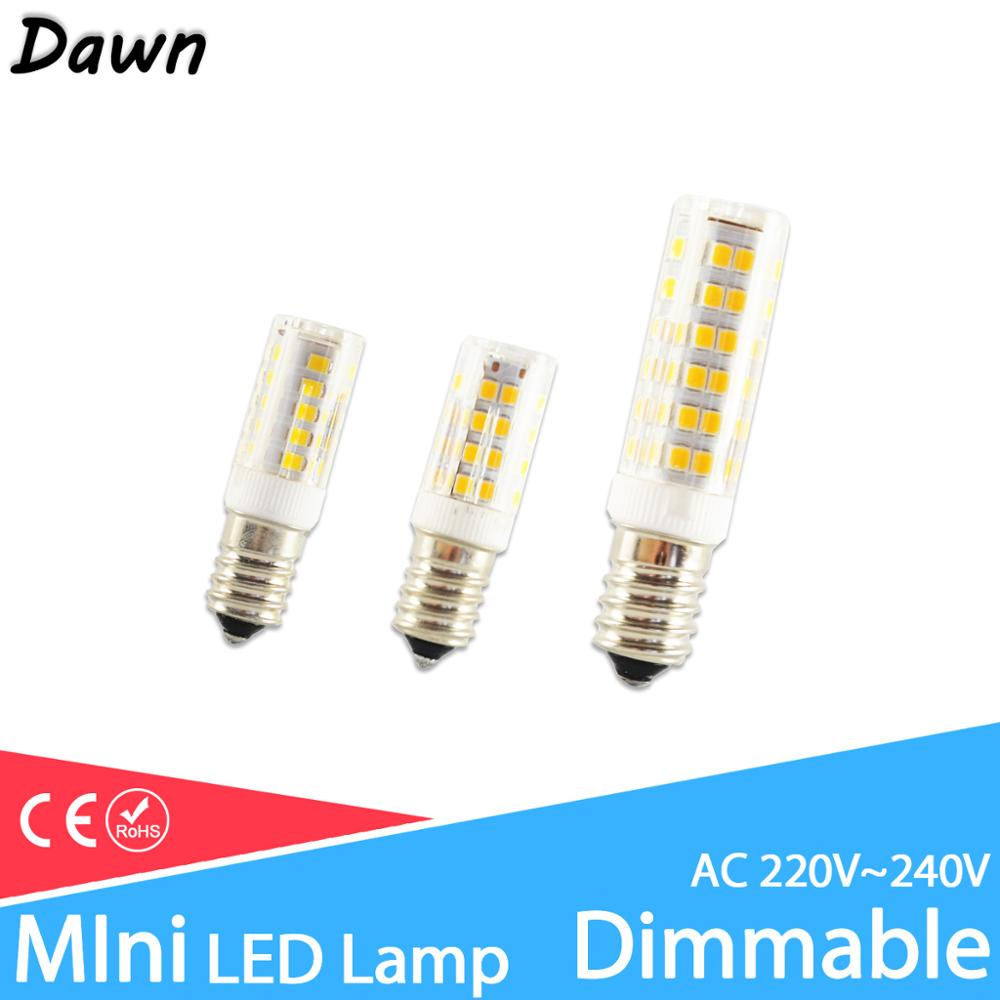 LED G4 Light G9 Led Lamp E14 Bulb 7W 9W 10W 12W COB 2835SMD 220V AC12V No Flicker Dimmable Ceramic Replace 30/40W Halogen Lamp