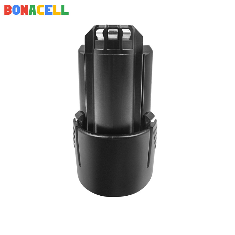 Bonacell 2000mAh 12V Li ion BAT411 Rechargeable Battery for BOSCH BAT412A BAT413A D 70745GOP 2607336013 2607336014 PS20 2 PS40 2 in Replacement Batteries from Consumer Electronics