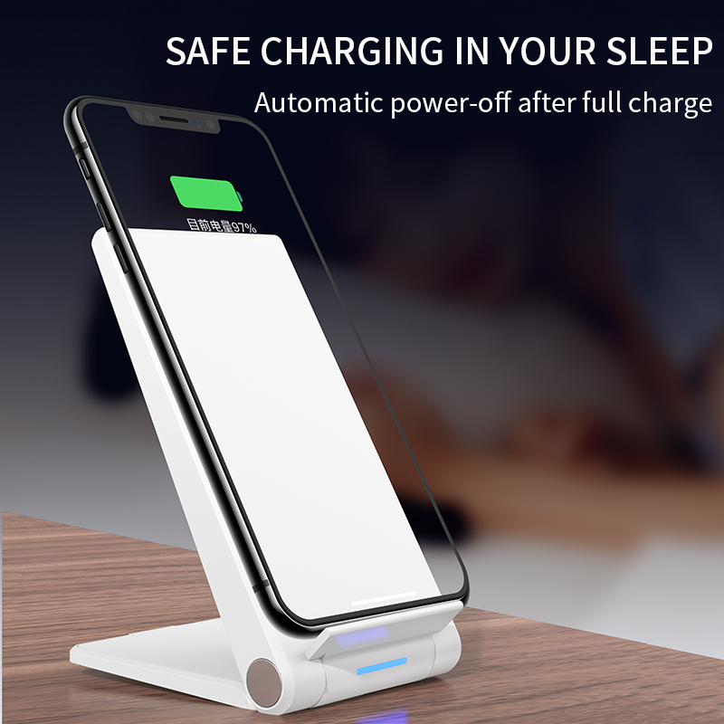 Image 5 - iHaitun 15W Qi Wireless Charger Type C Quick Charge 3.0 4.0 Stand Phone Holder Pad For iPhone 11 Pro Max Samsung Galaxy S10 USBMobile Phone Chargers   -