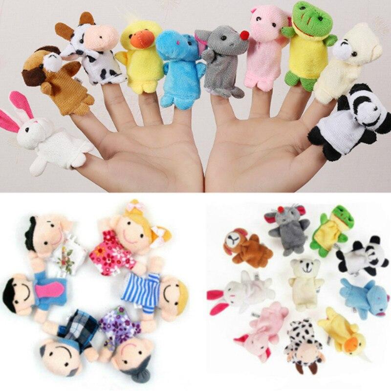 12 шт., детские плюшевые игрушки-животные из мультфильма