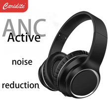 caridite ANC true wireless headset headphone Active Noise Cancellation BT5.0 for work study sleep peaceful over-ear N5 headset