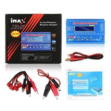 Alta qualidade imax b6 lipo nimh li-ion ni-cd rc bateria equilíbrio carregador digital descarregador 80w
