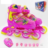 Children's roller shoes Roller skates Men's and women's sneakers Flash wheel