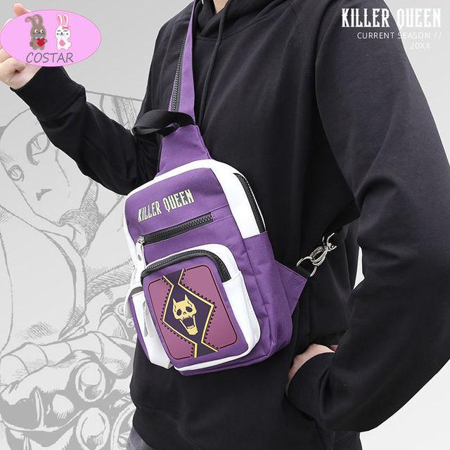 COSTAR Anime jojo's bizarre adventure Cosplay Backpack
