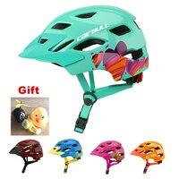 Marca quente crianças capacete da bicicleta com taillight equilíbrio ciclismo capacete ultraleve esportes de patinação mtb safty capacetes|Capacete da bicicleta| |  -
