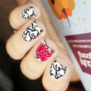 Image 5 - BeautyBigBang Nail Stamping Piatti Halloween Spider Skull Zucca Strega Immagine Unghie Artistiche Template Stencil Per Nail BBB XL 027