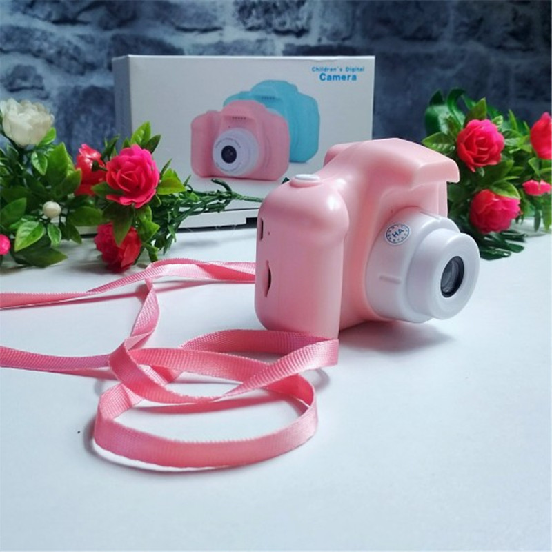 Mini Digital Camera With 16GB Memory Card Children's Digital Cameras Toys For Kids Birthday Christmas Gift
