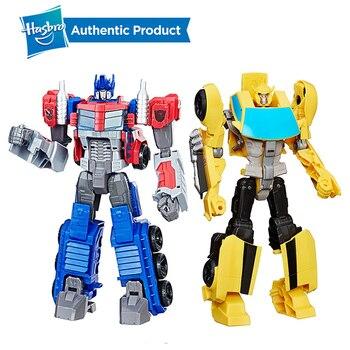 цена на Hasbro Transformers 11-Inch Toys Heroic Transformers Cybertron Commander Series Tra Cyber Commander Bumblebee