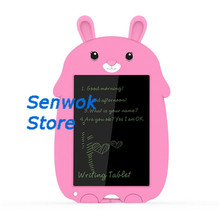 купить Kids Lcd Electronic Memo Pad Digital Slate Graphic Drawing Tablet eWriter Handwriting Pad Graphics Message Board дешево