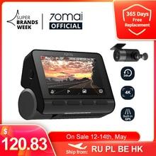 70mai-Cámara de salpicadero 4K A800S, GPS integrado, ADAS, cámara DVR para coche, Monitior de aparcamiento 24H, cámara frontal y trasera, 140FOV