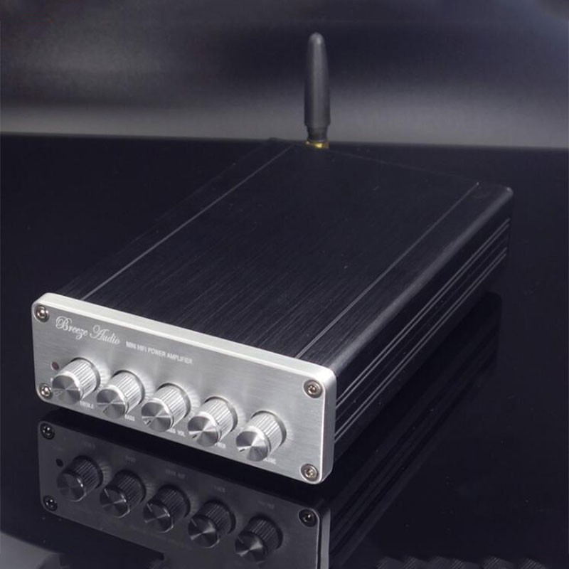 Mini HiFi Power Amplifier Bluetooth 5.0 DAC with PCM5102A Decoding Chip 2019 Version
