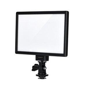 Image 2 - Viltrox L116B камера Супер тонкий ЖК дисплей с регулируемой яркостью студийная фотопанель для камеры DV видеокамеры DSLR фото