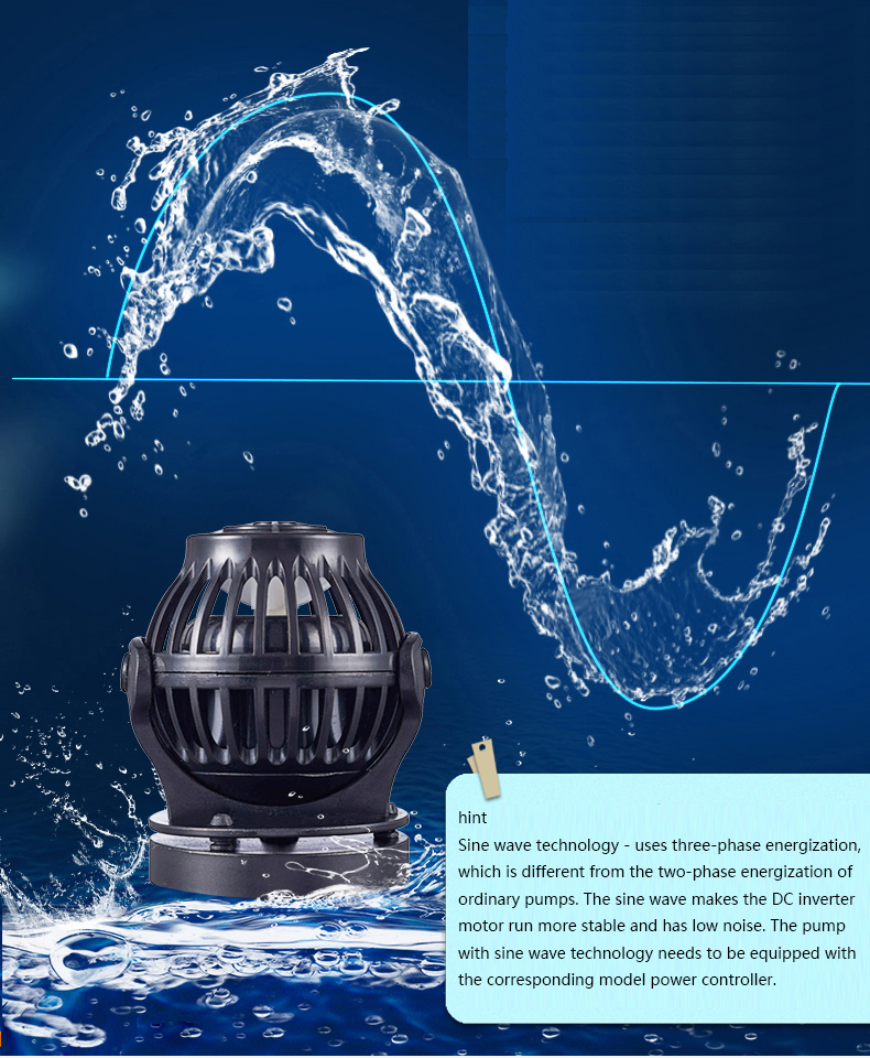 Image 5 - Jebao Jecod SOW Series Sine Wave Maker Pump Ultra Quiet Powerhead with ControllerWater Pumps
