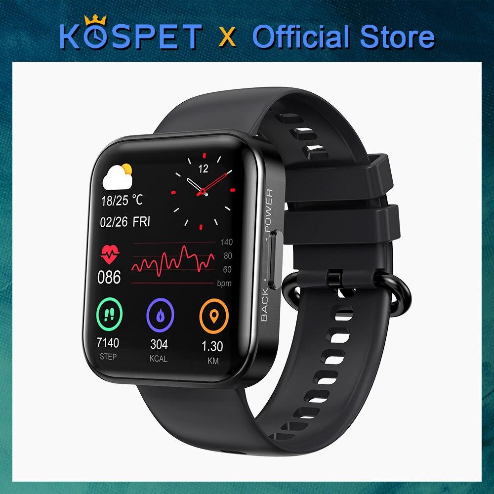 Nuovo-2021-KOSPET-MAGIC-3-Smartwatch-per-uomo-cinturino-Bluetooth-impermeabile-Sport-Fitness-bracciale-Smart-Clock Offerta KOSPET MAGIC 3 a 30€, SmartWatch Sportivo Economico 2021