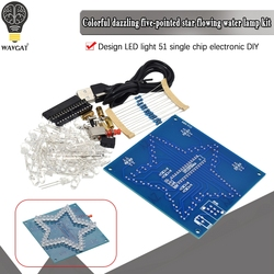 DIY Electronic Kit Five-Pointed Star Colorful Glare LED RGB Module Water Light 51 Single Chip Microcomputer For Arduino