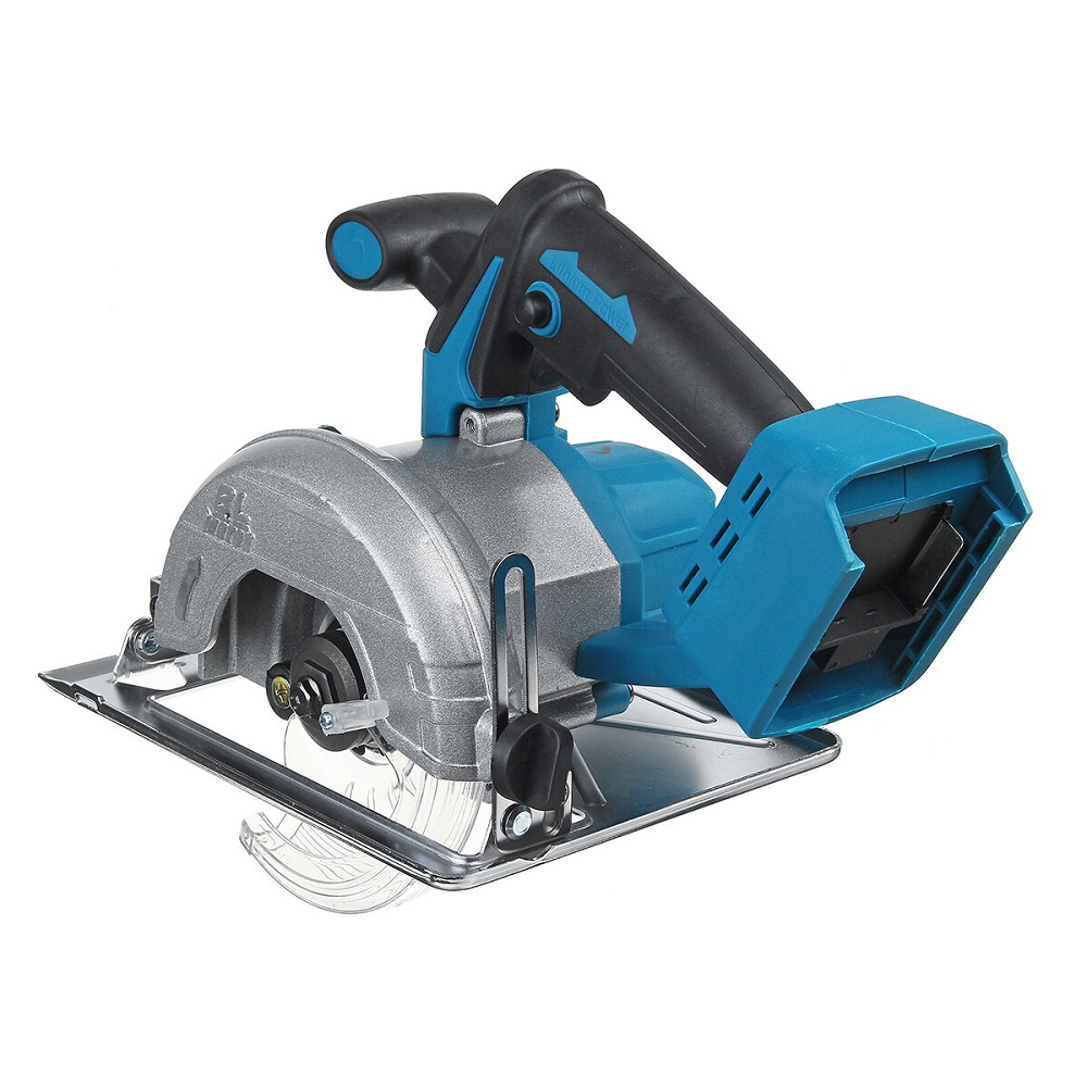 Tools : ALLSOME Electric Circular Saw 125mm Saw Blade Brushless Multi-Angle Cutting Suitable For Makita 18v Battery