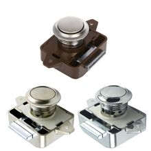 Botón de bloqueo de coche, pestillo de cajón para Motor de caravana y barco, bloqueos de botón para muebles, accesorios de Hardware, 1 ud.